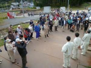 石峠Ⅱ遺跡に引き続き午後の説明会となったため、こちらも参加者が多く後ろの方は説明が聞こえにくかったかも知れません。それほど盛況でした!
