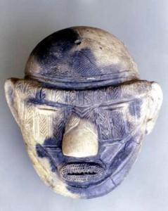 大型土偶頭部