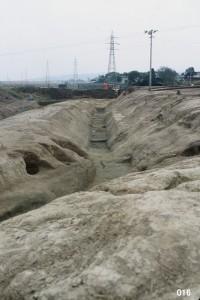 大規模な堀