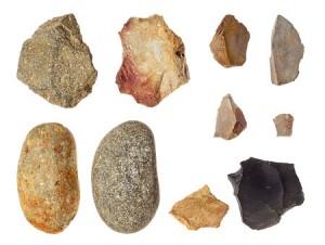柏山館跡出土旧石器