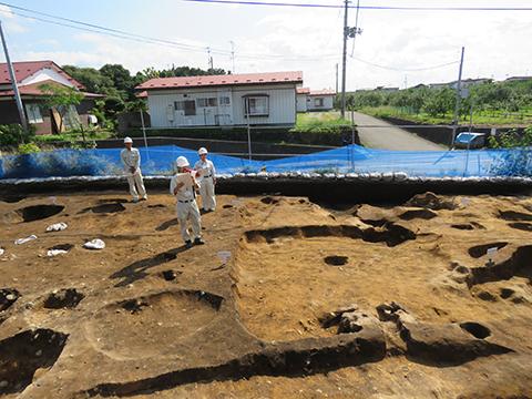 古代の竪穴住居の説明