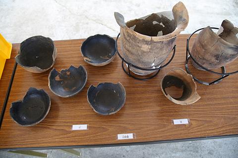 出土した奈良時代の土器